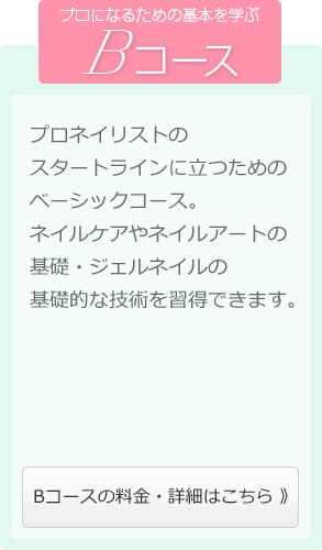 ネイルスクール【Bコース】